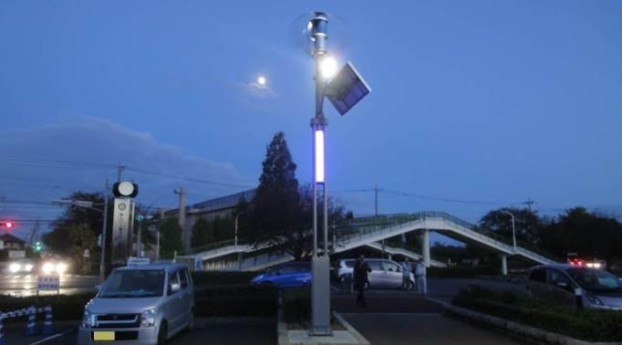 風光混合路燈系統